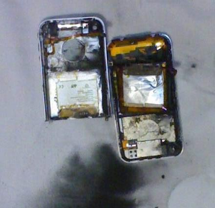 iPhone meltdown occurs during hardware hack