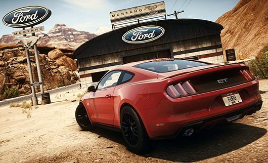 Need for Speed Rivals offers you the keys to a 2015 Mustang