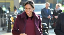 The Duchess of Sussex plans to work until her due date