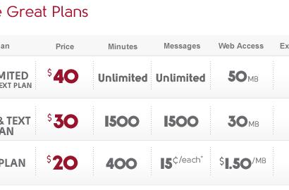 Virgin Mobile adds $40 payLo unlimited plan for talk and text types
