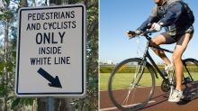 Calls to ban cyclists from footpaths after man's death