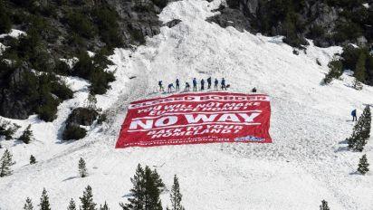 Alpes : après l'opération antimigrants de l'extrême droite, une contre-opération d'antifascistes italiens