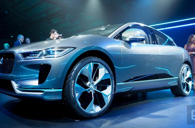 Pre-orders for Jaguar's all-electric SUV start March 1st