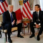 France's Macron urges Trump to avoid hasty climate change decision