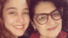 Debora Lamm comemora 10 anos de união com a atriz Inez Viana