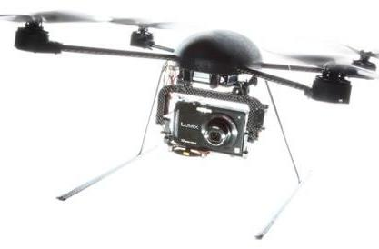 DraganFlyer X4 UAV puts the camera where it needs to be, even when the floor is lava
