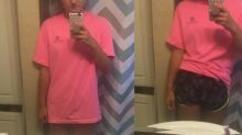 Teen gets slut-shamed for wearing long shirt and shorts in 41 degree heat
