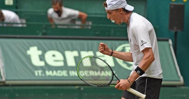 <b>Tennis</b> - <b>ATP</b> - Halle - Ugo Humbert domine Félix Auger-Aliassime et se qualifie pour la finale à Halle