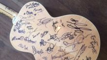 Lady Gaga, Foo Fighters, 100 More Artists Sign Guitar for Planned Parenthood Raffle