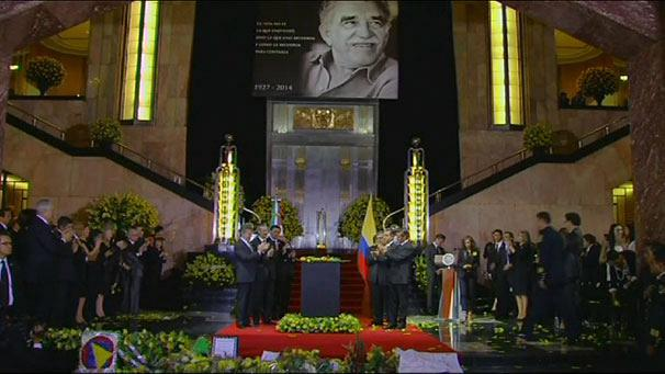 Mexico and Colombia hold memorials for Gabriel Garcia Marquez