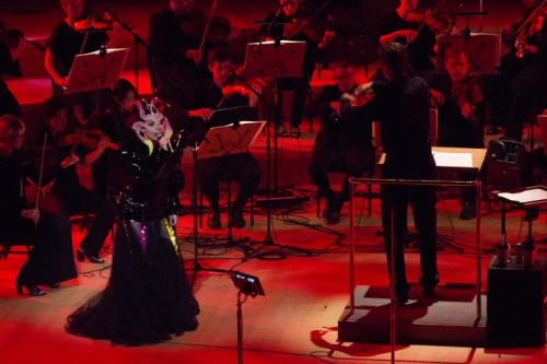 Bjork with the Los Angeles Philharmonic
