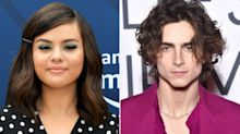 Selena Gomez Chats with Timothée Chalamet While He's in Line to Vote: 'Really Hope This Guy Loses'