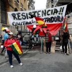 The Latest: UN chief urges restraint for Bolivians