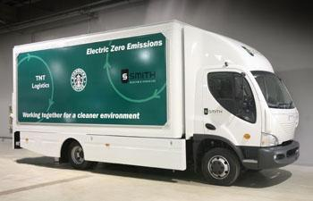 """Smith brings """"world's largest all-electric truck"""" to the US"""