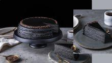 19號有得食!Lady M最新竹炭咖啡千層蛋糕,成個黑色好型呀!