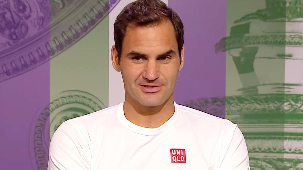 'Change your job': Roger Federer's hilarious takedown of Wimbledon journo