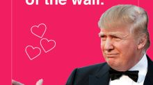 Trump Valentine's Day cards have landed, and they're genius