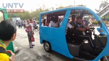 Tricycles out, P2P buses and e-trikes in on Katipunan Avenue
