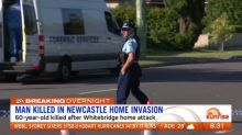 Man killed in Newcastle home invasion