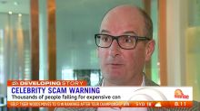 Aussies warned of fake celebrity scams on social media