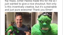 Mark Ruffalo loves the Elmer Padilla-created Hulk