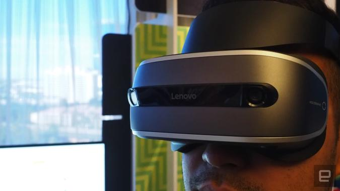 Lenovo's new VR headset is coming for less than $400