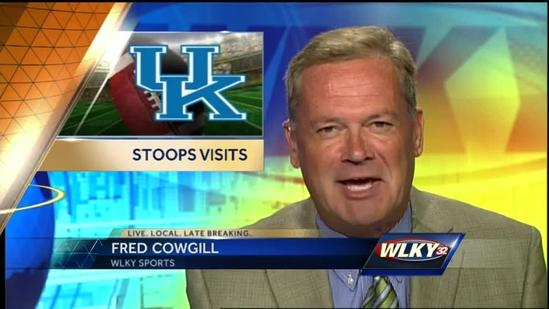 UK football coach Mark Stoops visits Louisville for kickoff luncheon