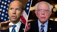 Delaney, Sanders meet with moderate Democrats on Capitol Hill eyeing potential endorsement