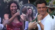 Erica Packer parties with Orlando Bloom for 40th birthday