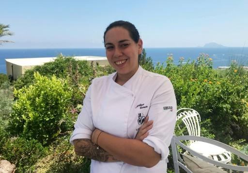 Italy's top female chef mixes it up with flavours from a