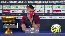 """FOOTBALL: Coupe de la Ligue: Finale - Verratti : """"Tout le monde sera à 100%, sans peur de se blesser"""""""