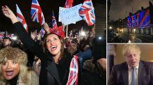 Brexit has happened: Britain leaves EU - as Boris Johnson warns of bumps in the road