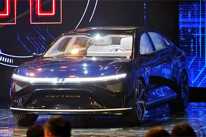 Foxconn unveils three new EV prototypes