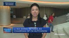 Li Ka-shing to stay on as senior advisor to CK Hutchison