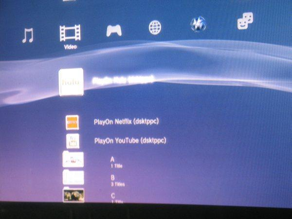 PlayOn media server brings Hulu / YouTube to consoles, Netflix coming soon?