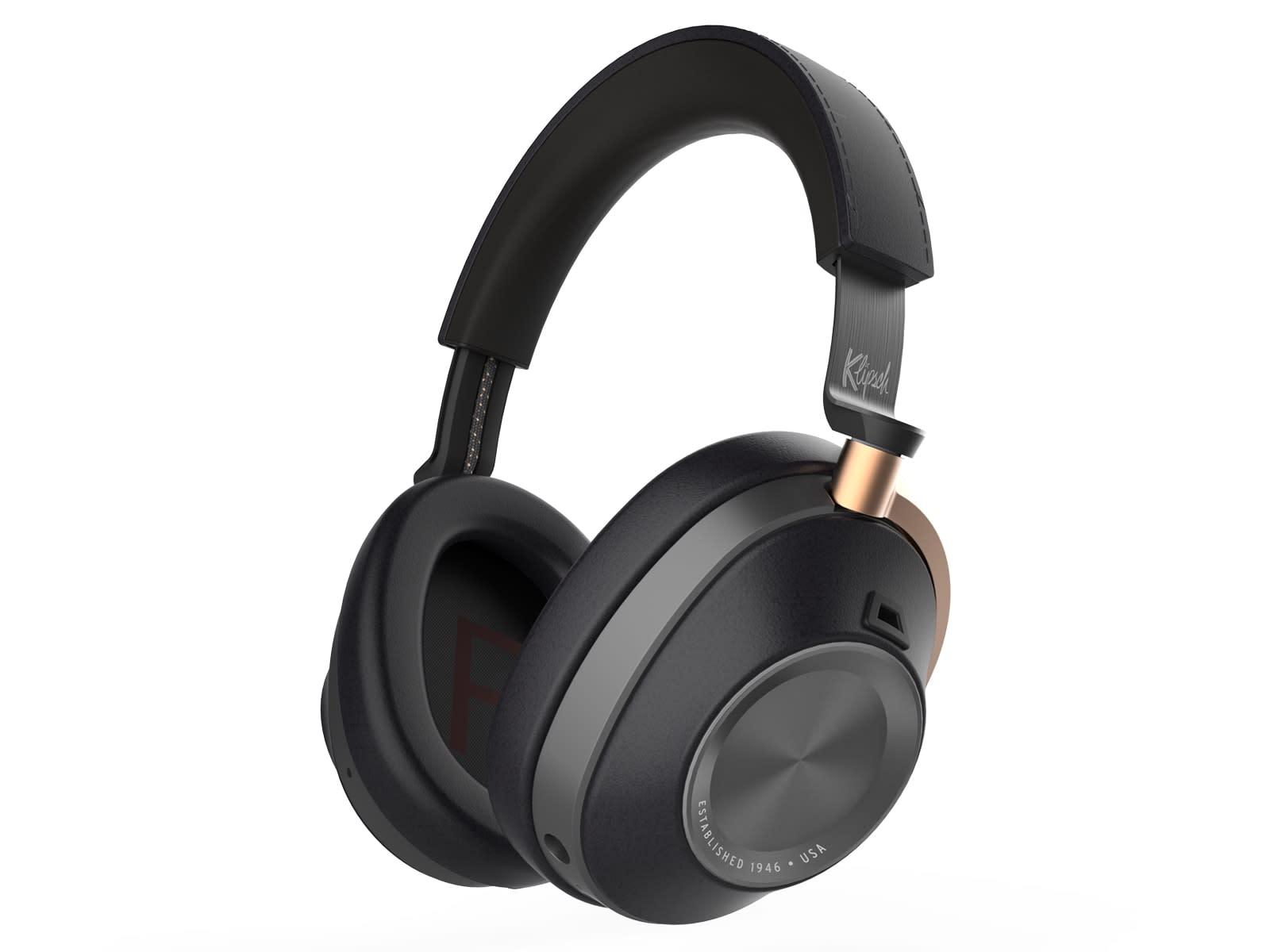 Klipsch over-ear noise cancelling headphones