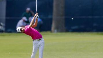 El chileno Niemann dice que su golf ha mejorado en su primer año de profesional
