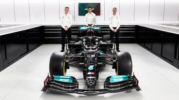 "Mercedes車隊承認""暗崁""W12賽車底板"