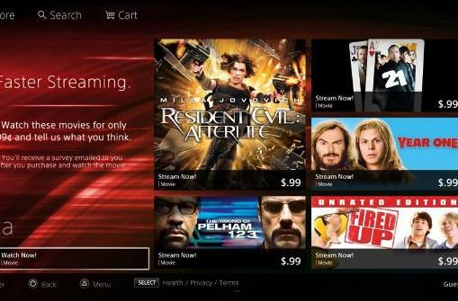 Sony begins testing faster, more efficient video streaming for PlayStation Store