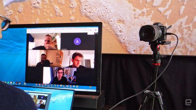 Tethered Webcam