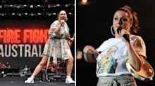 Celeste Barber's shirt sends powerful message to Scott Morrison