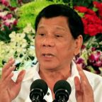 Philippine leader appears in public as rumors of health woes swirl