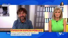El fallo durante la entrevista a Jordi Évole en 'Espejo Público' que no pasó desapercibido: así lo han llamado