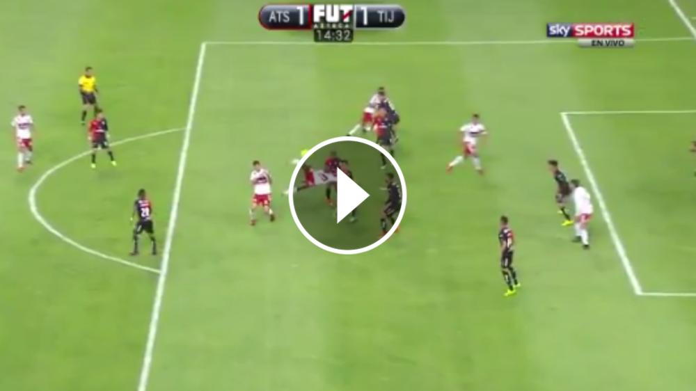 VIDEO: ¡Digno de un Puskas! El golazo de Avilés Hurtado