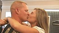 Army wife gives soldier big surprise