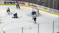 Perreault stays patient and goes five-hole
