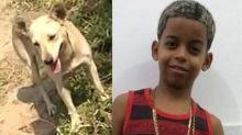 Cadela de menino que se afogou no Rio Guandu encontrou o corpo, segundo familiares