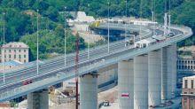 Le nouveau pont de Gênes de l'architecte Renzo Piano : la silhouette d'une coque de bateau pour rappeler l'histoire de la ville