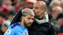 Pep Guardiola says Sergio Aguero could be sidelined for two more months