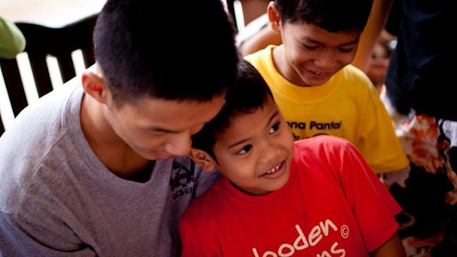 Learning what's important: overseas volunteer Shaun Teo